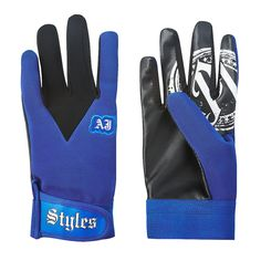 AJ Styles Blue Replica Gloves - WWE US