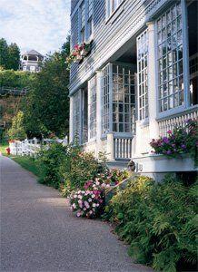 Place I stayed w/my dad, Chateau Lorraine, Macinac Island