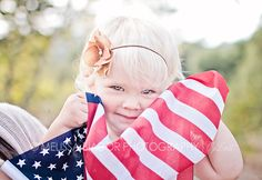 Patriotic #USA #family #children photography