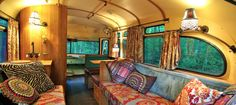 Short BUS Retro - Interior  DREAMY!!!