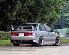 Rear bumper cut out Mitsubishi Cars, Japanese Domestic Market, Mitsubishi Lancer Evolution, Nissan Sentra, Jdm Cars, Sport Cars, Custom Cars, Mazda, Subaru