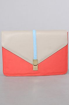 The Freestyle Clutch in Salmon by Nila Anthony