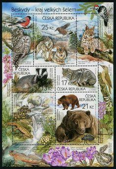 HERRICKSTAMP CZECH REPUBLIC Sc.# 3613 Nature Protection 2014 Sheetlet