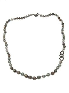 MAROC Pearl And Diamond Necklace