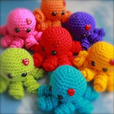 This adorable crochet octopus is so much fun to make and a hit with pretty much anybody: kids and adults! Mini Amigurumi Octopus by Sarah Hearn is about 2 inches wide by about 2 inches tall although it will be tiny in lace weight. These super cuties crochet up really quickly and are super addictive. …