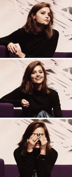 Jenna at the Doctor Who Festival, November, 2015.