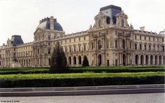 Louvre Museum (where the Mona Lisa is housed) Paris.