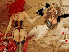 Pink Champagne by *Franchesco on deviantART