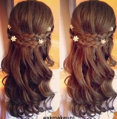 nice #justfrenchstyle likes this Tudors-inspired hairstyle...