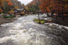 Nantahala Outdoor Center. Perhaps take a break from the AT and get some whitewater.