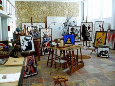 Taller de Joan Miro http://www.flickr.com/photos/lunalunita/1391526363/in/gallery-mattiacam-72157623872633607/