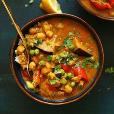 Could there possibly be too many curries in the world? I say, no. I've been super intored curries lately for their spicy, smoky kick. And because chickpeas lend so beautifully to spicy sauces, they are my protein of choice here. Shall we dig in? This curry is inspired by one I've been ordering from a …