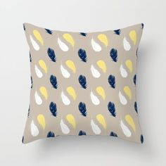 Decorative Pillow Covers for Couch, Cushion Covers, Blue, Yellow, Beige