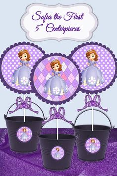 Sofia the First 5 Printable DIY Printable by SerendipityPlanning, $2.95