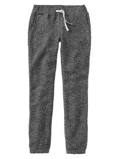 gap marled sweats in heather grey.