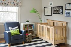 Project Nursery - Rainbow Nursery Room