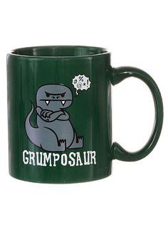 Grumposaur Dino Coffee Mug at PLASTICLAND