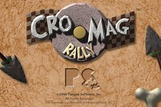 """Cro-Mag Rally"" Developed by Pangea Software (1998)"