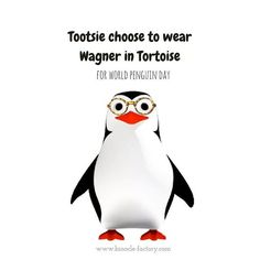 Happy #WorldPenguinDay everyone!! Tootsie is so cute in Wagner, don't you think so? 😍🐧  And good tuesday to all! .  .  .  #glasses #nerd #penguin #penguins 🐧#tuesdaymotivation #Tuesday #vancouver #montreal #eyeglassess #hipster #hipsterglasses #cute #love #fashion #fashionaccessories #canadian #canadianfashion #canadianfashionlove #style #stylish #smilemore #binocle #binoclefactory Penguin Day, Hipster Glasses, Tuesday Motivation, Glasses Online, Montreal, Penguins, Vancouver, Emo, Photo And Video