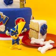 Another shot from #nickelodeonparents site featuring the #PawPatrol #cake I made for them.  #chase #rescue #pup