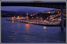 Porto de Ribadeo e Ponte dos Santos