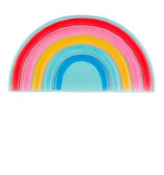 Chasing Rainbows Night Light in stock now at Children's Rooms Ceiling Shades, Lamp Shades, Shared Rooms, Kids Bedroom, Night Light, Toddler Girl, Nursery, Rainbows, Lighting
