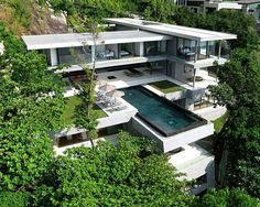 "Check out all the images of     ""House design interior in Phuket Treats with luxury sea views"""