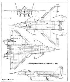МиГ-1.44 схема