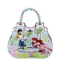 Princess Ariel Little Mermaid Tin Box Carry All Clutch Purse - Prince