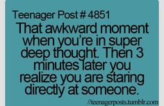 Lol. So many times. So many times its one of my main character's big problems in my book