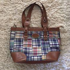 American Living Handbag Checkered American Living Bag Bags