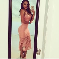 Hot Miami styles love this dress!