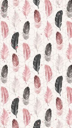 Are you looking for ideas for wallpaper?Browse around this site for perfect wallpaper inspiration. These cool background images will brighten your day. Feather Wallpaper, Pink Wallpaper, Flower Wallpaper, Screen Wallpaper, Mobile Wallpaper, Pattern Wallpaper, Wallpaper Ideas, Bedroom Wallpaper, Perfect Wallpaper