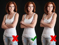 how to pose those hands...
