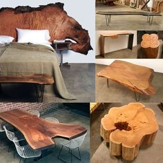 Urban Hardwoods great ideas for sawn timber.