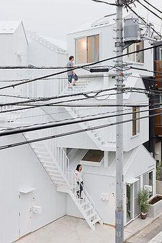 Tokyo Apartments   Tokyo   Japan By Sou Fujimoto Architects. Photography  Iwan Baan.