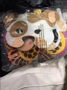 mascaras que comprei pras crias