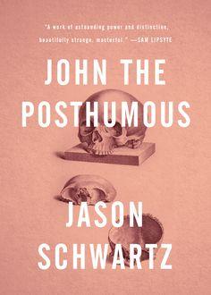 John the Posthumous, by Jason Schwartz. Cover design by Bathcat Ltd. Published in 2013.