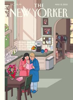 "From Freedom to Marry: ""Next week is Mother's Day - and to celebrate, The New Yorker is featuring this sweet tribute to a loving family with two moms. Click ""like"" and share if this cover makes you smile, and read more from the artist: http://nyr.kr/18Ob9W9 "" #LGBT"