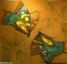 Silk Painting by  Joyce Estes