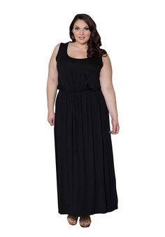 SWAK Womens Plus Size Valerie Maxi Dress >>> Wow! I love this. Check it out now! : Plus size dresses