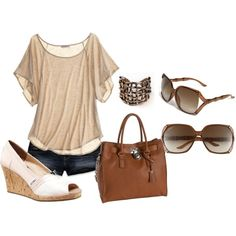 Cool and Casual, created by strantham on Polyvore