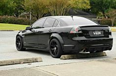 There wheels are what I need on mine! 08 Pontiac G8 GT on MRR wheels