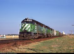 RailPictures.Net Photo: BN6556 Burlington Northern Railroad EMD SD45 at Dalhart, Texas by Joe Blackwell