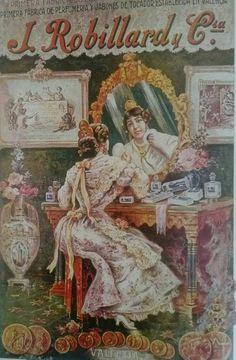 Primera Fabrica de Perfumeria y Jabones de Tocador establecida en Valencia año 1860