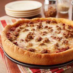 Pizza Recipes, Cooking Recipes, Skillet Recipes, Fun Recipes, What's Cooking, Cooking Ideas, Recipe Ideas, Holiday Recipes, Food Ideas