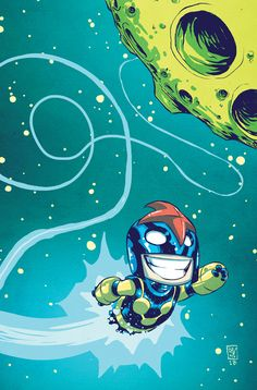 Nova #1 Cover Variant by Skottie Young