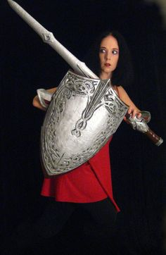 Sif Shield  Made to Order by ThePotionsMistress on Etsy, $125.00