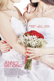 Slovenian movie poster image for Jenny's Wedding The image measures 900 * 1297 pixels and is 660 kilobytes large.