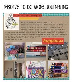 TONS of great tips and links on how to improve your journaling for Project Life or other scrapbooks